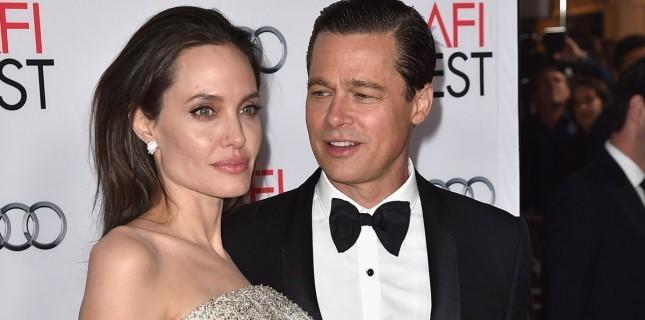 Angelina Jolie ile Brad Pitt Ayrılıyor!