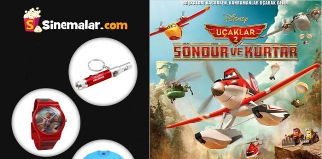 Uçaklar: Söndür ve Kurtar Filmi Ödüllü Yarışması!