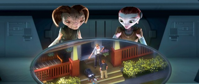 Marslılar, Annem ve Ben