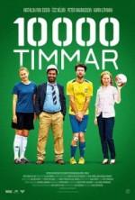 10.000 saat (2014) afişi
