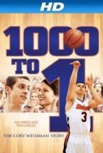 1000'de 1: Cory Weissman Hikayesi (2014) afişi