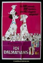101 Dalmaçyalı (1961) afişi