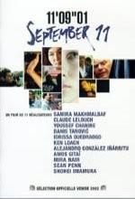 11 Eylül (2002) afişi