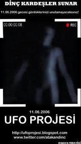 11 Haziran 2006 Ufo Projesi (2012) afişi