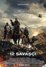 12 Savaşçı (2018) afişi