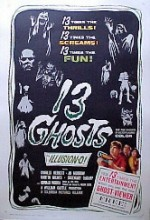 13 Hayalet (1960) afişi