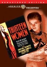 13 Kadın (1932) afişi