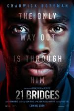21 Bridges (2019) afişi