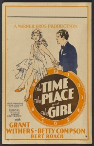 The Time, The Place And The Girl (ı) (1946) afişi