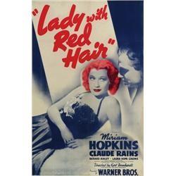 Lady With Red Hair (1940) afişi