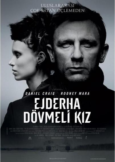 Ejderha Dövmeli Kız (2011) afişi