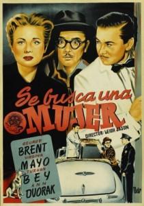 Out Of The Blue (1947) afişi
