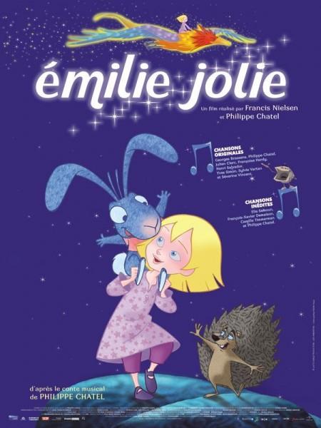 Émilie Jolie (2011) afişi