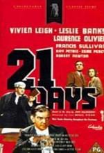 21 Days (1940) afişi
