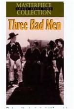 3 Bad Men (1926) afişi