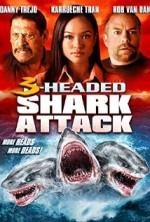 3 Headed Shark Attack (2015) afişi