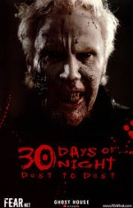 30 Days of Night: Dust to Dust (2008) afişi