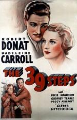 39 Basamak (1935) afişi