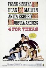 4 Teksaslı (1963) afişi