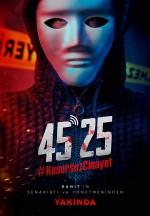 45 25: #KusursuzCinayet Afişi