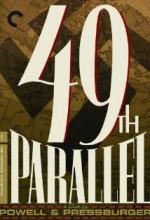 49. Paralel (1941) afişi