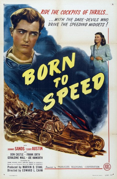 Born To Speed (1947) afişi