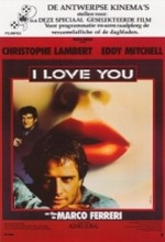 I Love You (1986) afişi