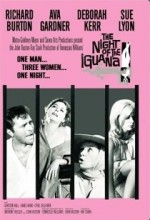 İguana Geceleri (1964) afişi