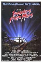 Invaders From Mars (1986) afişi