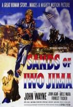 Iwo Jima Yanıyor (1949) afişi
