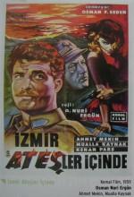İzmir Ateşler İçinde (1959) afişi