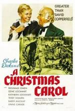 A Christmas Carol (1938) afişi