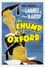 A Chump At Oxford (1940) afişi