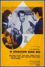 A Ciascuno Il Suo (1967) afişi