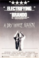 A Dry White Season (1989) afişi