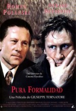 A Pure Formality (1994) afişi