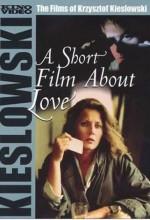 A Short Film About Love (1988) afişi