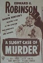 A Slight Case of Murder (1938) afişi