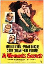 A Woman's Secret (1949) afişi