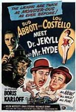Abbout Ve Costello'nun Dr. Jekyll Ve Bay Hyde'la Rastlaşması (1953) afişi