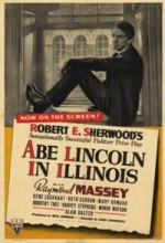 Abe Lincoln in Illinois (1940) afişi