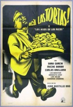 Acá Las Tortas (1951) afişi