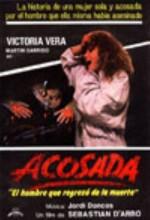 Acosada (1985) afişi