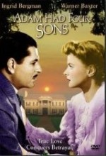 Adam Had Four Sons (1941) afişi