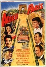 Adieu Paris (1952) afişi