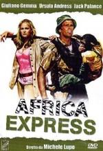 Afrika Ekspresi (1975) afişi