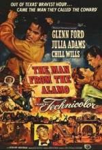 Alamo Kalesindeki Adam (1953) afişi