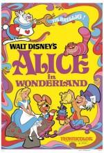 Alice Harikalar Diyarında (1951) afişi
