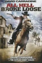 All Hell Broke Loose (2009) afişi