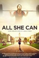 All She Can (2011) afişi